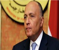 شكري: أي إجراء لضم المستوطنات بالضفة الغربية وغور الأردن انتهاك للقانون الدولي