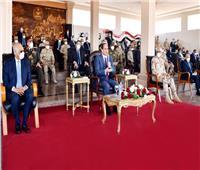 رسائل الرئيس للشعب المصرى «إطمنوا .. مصر بخير وقادرة على إدارة الأزمة»