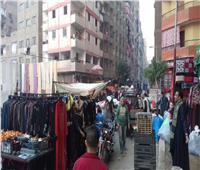 صور| محافظة القاهرة تسجيبلبوابة أخبار اليوم وتفض سوق التلات بالمرج