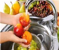 في زمن كورونا.. كيفية تطهير مختلف الأغذية
