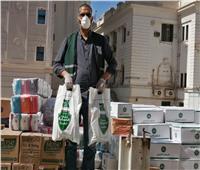 توزيع 3260 كرتونة مواد غذائية ومستلزمات وقائية بالمنيا