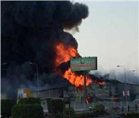 حريق هائل بمصنع للمفروشات بمدينة العاشر من رمضان