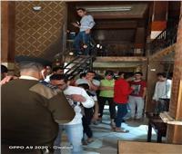 ضبط 31 شابًا داخل «سايبر» لخرق مواعيد حظر التجوال بالشرقية