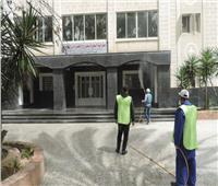 جامعة دمنهور تنتهي من تطهير وتعقيم ٧٠ ٪ من المؤسسات الحكومية بالبحيرة