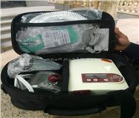 فاعلة خير تتبرع بأجهزة بمبلغ 84500 جنيه لمستشفى كفر الزيات