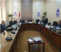 رئيس جامعة بنها يترأس لجنة اختيارعميد كلية الهندسة بشبرا