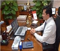 وزير الرياضة يتواصل مع اللاعبين العائدين من الخارج بالحجر الصحي