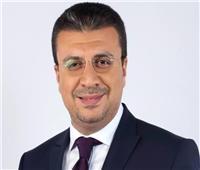السفير عمرو جمعة ناعيأ والدة زوجة الإعلامي عمرو الليثي