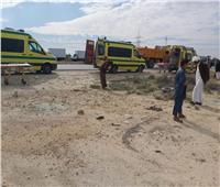إصابة ٤٣ طفلا فى انقلاب سيارة ربع نقل بقنا