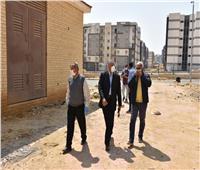 قيادات الإسكان يتفقدون مشروعاتالقاهرة الجديدة وأعمال النظافة بالمدينة