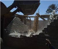 تنفيذ حملة ازالات وورصف وتطهير شوارع مركز طما بسوهاج