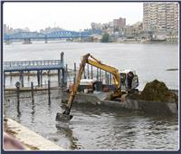 بتكلفة 41 مليون جنيه.. تطهير مجرى النيل وأعمال ري في مدينة المنصورة