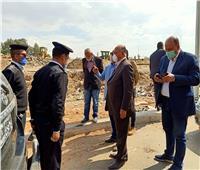 محافظ القاهرة يتفقد أعمال إزالة تعديات «محور الطوارئ»