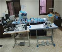 ضبط مصنع لإنتاج كمامات طبية غير مطابقة داخل منزل بأسيوط