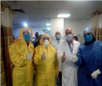 بعد إصابة ممرض بالكورونا| فحص 40 فردًا من الطاقم الطبي لمعهد القلب
