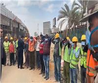 فيديو| لحرصه على صحة العمال.. «السيسي حبيب الغلابة» يتصدر «تويتر»