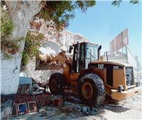 إزالة 4 آلاف متر تعديات على أراضي الدولة بالغردقة