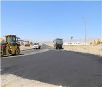 فودة يتفقد عددا من المشروعات الخدمية بمدينة طور سيناء