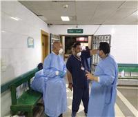 وكيل صحة الغربية يشدد على الأطباء الالتزام بالتدابير الاحترازية