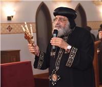 البابا تواضروس يترأس قداس جمعة ختام الصوم بدون حضور شعبي
