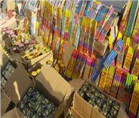 الداخلية تحبط دخول 20 مليون عبوة شماريخ وألعاب نارية