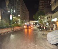 محافظ أسيوط يترأس حملة ليلية لتعقيم وتطهير الشوارع