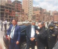 محافظ القاهرة يترأس حملة لإزالة المباني المخالفة بترعة الطوارئ