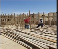 جهاز القاهرة الجديدة: فك الشدات الخشبية ومصادرة المعدات لـ5 مخالفات بناء