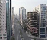 شاهد| بسبب كورونا.. شوارع مكة المكرمة خالية من البشر