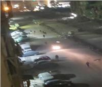 امسك مخالفة| شباب يلعبون كرة قدم في شوارع المطرية