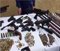 الأمن العام يضبط 174 قطعة سلاح وينفذ 72 ألف حكم