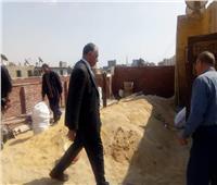 حملة لإزالة المباني المخالفة في شبرا