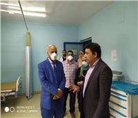 صحة الغربية| رفع كفاءة مستشفى كفر الزيات بعد تحويلها إلى حجر صحي