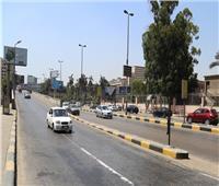 فيديو| سيولة مرورية بشوارع القاهرة والجيزة