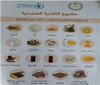 تعليم أسوان: 2414 طالبا يستفيد من برنامج الأغذية العالمي لبطاقات السلع