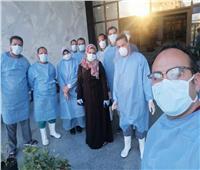 تزايد حالات الشفاء من كورونا لـ 38 بدمياط