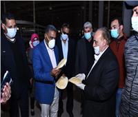 محافظ مطروح يتفقد مجمع المخابز بمدينة مرسى مطروح