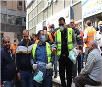 حزب مستقبل وطن بالقاهرة يوزع ٣٠٠٠ كمامة بالمجان