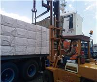 تداول 419 ألف طن بضائع خلال 24 ساعة بميناء الإسكندرية