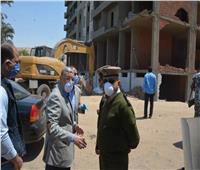 محافظ المنيا يقود حملة مكبرة لإزالة 6 أبراج مخالفة