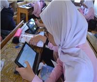 انتظام امتحان الفيزياء لطلاب الصف الأول الثانوي في شمال سيناء