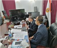 محافظ المنيا يتابع الحالة العامة داخل مستشفى العزل بملوي