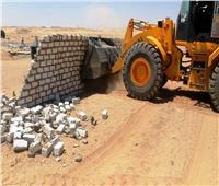 إزالة 29 حالة تعدٍ بمساحة 33.2 ألف متر فى أسوان