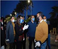 محافظ دمياط تقود حملات لمنع دخول الزوار إلي رأس البر