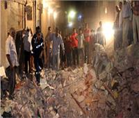 مصرع شقيقتين وإنقاذ 3 أشخاص في انهيار عقار بالإسكندرية