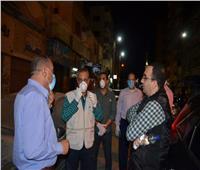 محافظ الاسماعيلية يتابع أعمال التعقيم والتطهير ورفع القمامة لشوارع حى ثان