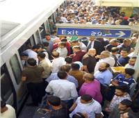 وزير النقل يكشف سبب الزحام في محطة مترو العتبة