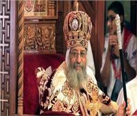 البابا تواضروس يترأس قداس خميس العهد بوادي النطرون
