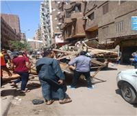 محافظة الجيزة تزيل سوق ترعة سليم بالهرم