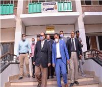 محافظ أسيوط يتفقد المدينة الجامعية تمهيدًا لتشغيلها مستشفى عزل